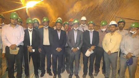 بازدید اعضای کمیسیون کشاورزی، آب و محیط زیست مجلس از سد دالکی
